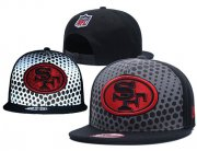 Wholesale Cheap NFL San Francisco 49ers Stitched Snapback Hats 137