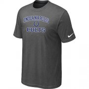 Wholesale Cheap Nike NFL Indianapolis Colts Heart & Soul NFL T-Shirt Crow Grey