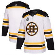 Wholesale Cheap Adidas Bruins Blank White Road Authentic Stanley Cup Final Bound Stitched NHL Jersey