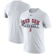 Wholesale Cheap Boston Red Sox Nike Practice Performance T-Shirt White