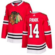 Wholesale Cheap Adidas Blackhawks #14 Richard Panik Red Home Authentic Stitched Youth NHL Jersey