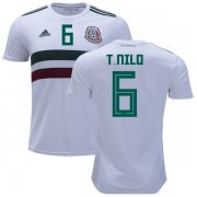 Wholesale Cheap Mexico #6 T.Nilo Away Soccer Country Jersey