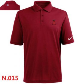 Wholesale Cheap Nike Los Angeles Angels 2014 Players Performance Polo Red