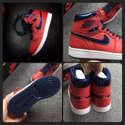 Wholesale Cheap Air Jordan 1 High OG David Letterman Red/blue-white