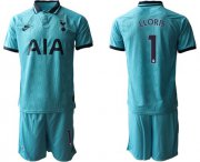 Wholesale Tottenham Hotspur #1 Lloris Third Soccer Club Jersey
