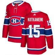 Wholesale Cheap Adidas Canadiens #15 Jesperi Kotkaniemi Red Home Authentic Stitched Youth NHL Jersey