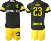 Wholesale Cheap Dortmund #23 Kagawa Away Soccer Club Jersey