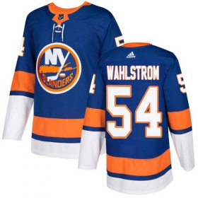 Wholesale Cheap Adidas Islanders #54 Oliver Wahlstrom Royal Blue Home Authentic Stitched NHL Jersey