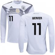 Wholesale Cheap Germany #11 Werner Home Long Sleeves Kid Soccer Country Jersey