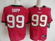 Wholesale Cheap Nike Buccaneers #99 Warren Sapp Red Team Color Men's Stitched NFL Elite Jersey