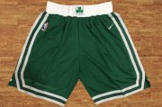 Wholesale Cheap Men's Boston Celtics Green Nike NBA Shorts