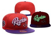 Wholesale Cheap NBA Toronto Raptors Adjustable Snapback Hat YD16062714
