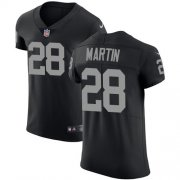 Wholesale Cheap Nike Raiders #28 Doug Martin Black Team Color Men's Stitched NFL Vapor Untouchable Elite Jersey