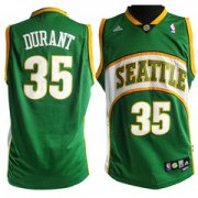 Wholesale Cheap Seattle Supersonics #35 Kevin Durant 2007-08 Green Swingman Jersey