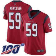 Wholesale Cheap Nike Texans #59 Whitney Mercilus Red Alternate Men's Stitched NFL 100th Season Vapor Limited Jersey