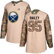 Wholesale Cheap Adidas Sabres #95 Justin Bailey Camo Authentic 2017 Veterans Day Stitched NHL Jersey