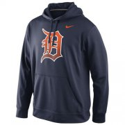Wholesale Cheap Detroit Tigers Nike Logo Performance Navy Blue MLB Hoodie