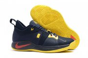 Wholesale Cheap Nike PG 2 Navy Yellow