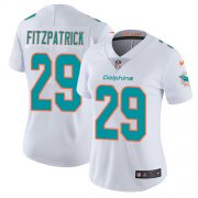 Wholesale Cheap Nike Dolphins #29 Minkah Fitzpatrick White Women's Stitched NFL Vapor Untouchable Limited Jersey