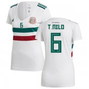 Wholesale Cheap Women's Mexico #6 T.Nilo Away Soccer Country Jersey