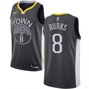 Wholesale Cheap Nike Warriors #8 Alec Burks Black NBA Swingman Statement Edition Jersey