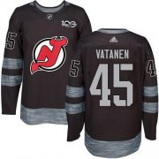 Wholesale Cheap Adidas Devils #45 Sami Vatanen Black 1917-2017 100th Anniversary Stitched NHL Jersey