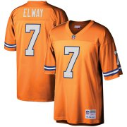 Wholesale Cheap Youth Denver Broncos #7 John Elway Mitchell & Ness Orange 1990 Legacy Retired Player Jersey