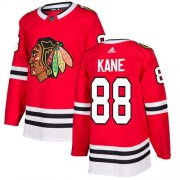 Wholesale Cheap Adidas Blackhawks #88 Patrick Kane Red Home Authentic Stitched Youth NHL Jersey