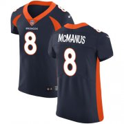 Wholesale Cheap Nike Broncos #8 Brandon McManus Navy Blue Alternate Men's Stitched NFL Vapor Untouchable Elite Jersey