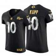 Wholesale Cheap Los Angeles Rams #10 Cooper Kupp Men's Nike Black Edition Vapor Untouchable Elite NFL Jersey