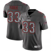 Wholesale Cheap Nike Patriots #33 Kevin Faulk Gray Static Men's Stitched NFL Vapor Untouchable Limited Jersey