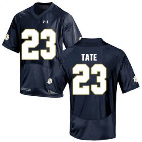 Wholesale Cheap Notre Dame Fighting Irish 23 Golden Tate Navy College Football Jersey