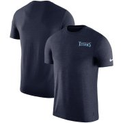 Wholesale Cheap Tennessee Titans Nike On-Field Coaches UV Performance T-Shirt Navy