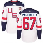 Wholesale Cheap Team USA #67 Max Pacioretty White 2016 World Cup Stitched Youth NHL Jersey