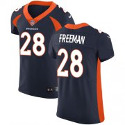 Wholesale Cheap Nike Broncos #28 Royce Freeman Navy Blue Alternate Men's Stitched NFL Vapor Untouchable Elite Jersey