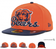 Wholesale Cheap Chicago Bears fitted hats 09
