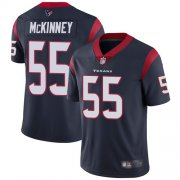 Wholesale Cheap Nike Texans #55 Benardrick McKinney Navy Blue Team Color Youth Stitched NFL Vapor Untouchable Limited Jersey