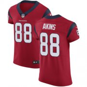 Wholesale Cheap Nike Texans #88 Jordan Akins Red Alternate Men's Stitched NFL New Elite Jersey