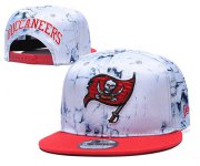 Wholesale Cheap Buccaneers Team Logo Smoke Red Adjustable Hat TX