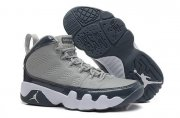 Wholesale Cheap Womens Air Jordan 9 Retro Cool Grey Gray/blue-white