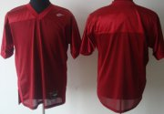 Wholesale Cheap Florida State Seminoles Blank Red Jersey