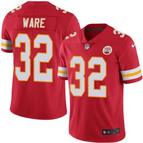Wholesale Cheap Nike Chiefs #32 Spencer Ware Red Team Color Men\'s Stitched NFL Vapor Untouchable Limited Jersey