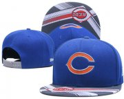 Wholesale Cheap NFL Chicago Bears Team Logo Black Adjustable Hat S77