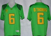 Wholesale Cheap Oregon Ducks #6 DeAnthony Thomas 2013 Light Green Limited Jersey