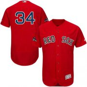 Wholesale Cheap Red Sox #34 David Ortiz Red Flexbase Authentic Collection 2018 World Series Stitched MLB Jersey