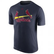 Wholesale Cheap St.Louis Cardinals Nike Legend Wordmark 1.5 Performance T-Shirt Navy