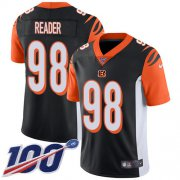 Wholesale Cheap Nike Bengals #98 D.J. Reader Black Team Color Youth Stitched NFL 100th Season Vapor Untouchable Limited Jersey