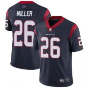 Wholesale Cheap Nike Texans #26 Lamar Miller Navy Blue Team Color Youth Stitched NFL Vapor Untouchable Limited Jersey