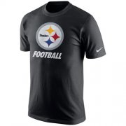 Wholesale Cheap Pittsburgh Steelers Nike Facility T-Shirt Black