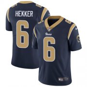 Wholesale Cheap Nike Rams #6 Johnny Hekker Navy Blue Team Color Youth Stitched NFL Vapor Untouchable Limited Jersey